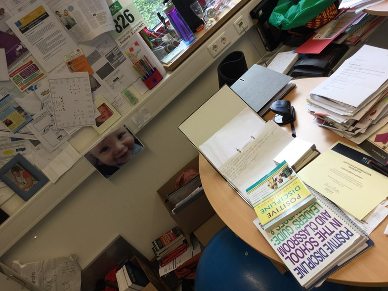 beginning of the year desk